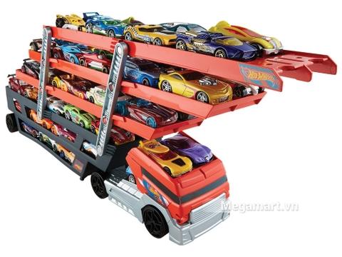 Sức chứa lên tới 50 chiếc xe của Hot Wheels Xe tải vận chuyển