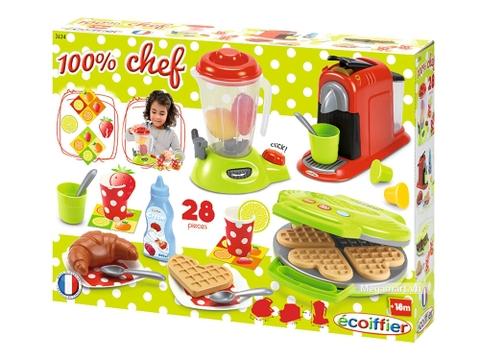 Hình ảnh vỏ hộp bộ Ecoiffier Đồ dùng cho gia đình nhỏ