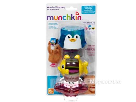 Hình ảnh thực tế của sản phẩm Munchkin Thác nước cánh cụt