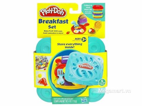 Play-Doh 20687 - Bữa sáng ngon miệng - bộ đồ chơi sáng tạo mới