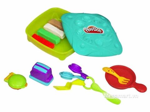 Play-Doh 20687 - Bữa sáng ngon miệng - các chi tiết trong bộ đồ chơi