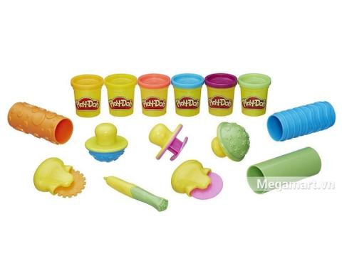 Thiết kế ấn tượng của Play-Doh B3408 - Dụng cụ học vui nhộn