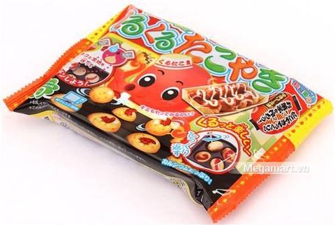 Popin Cookin làm bánh bạch tuộc Takoyaki - đồ chơi nấu ăn Nhật Bản