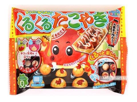 Popin Cookin làm bánh bạch tuộc Takoyaki - Hình ảnh vỏ hộp sản phẩm