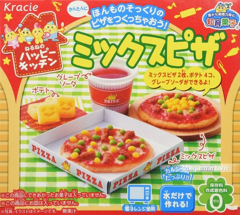 Popin Cookin làm bánh Pizza - đồ chơi nấu ăn Nhật Bản