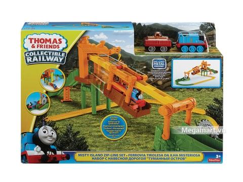 Hình ảnh vỏ hộp bộ Thomas and Friends Bộ đường rây vận chuyển ròng rọc