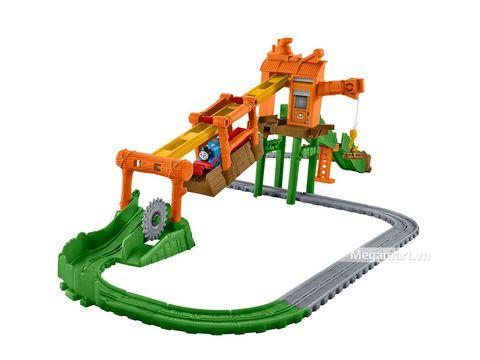 Thiết kế ấn tượng của Thomas and Friends Bộ đường ray xe lửa bãi phế liệu