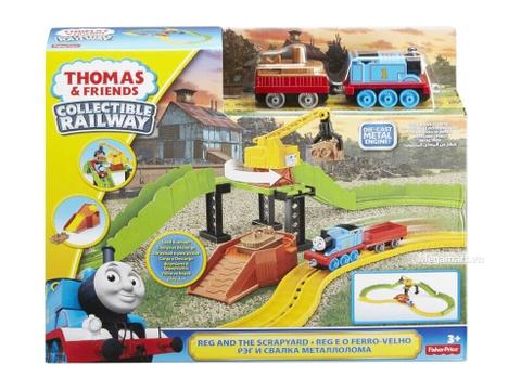 Hình ảnh vỏ hộp bộ Thomas and Friends Bộ đường rây bốc xếp hàng