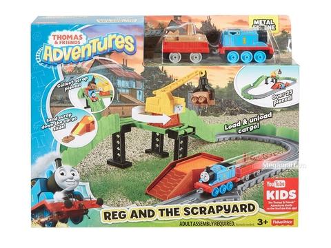 Hình ảnh vỏ hộp bộ Thomas and Friends Bộ đường ray xe lửa bãi phế liệu