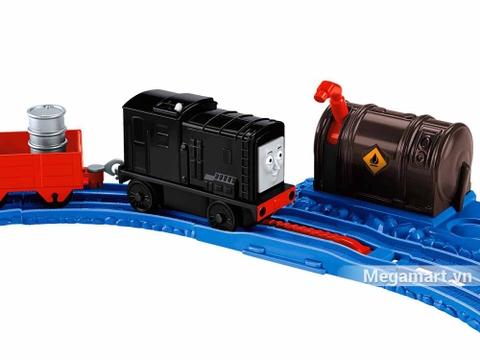 Thomas & Friend Bộ đường ray Nâng và cất hàng - đầu tàu có sẵn