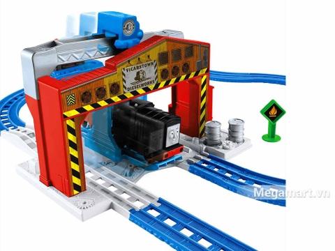 Thomas & Friend Bộ đường ray Nâng và cất hàng - bến cảng