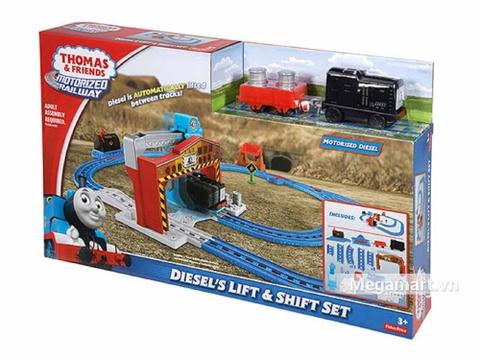 Thomas & Friend Bộ đường ray Nâng và cất hàng - ảnh bìa sản phẩm