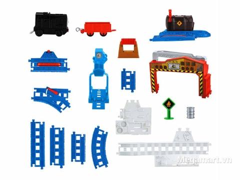 Thomas & Friend Bộ đường ray Nâng và cất hàng - các chi tiết