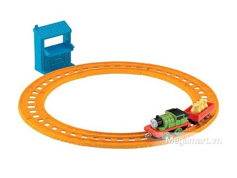 Thomas & Friend Bộ đường ray Percy đưa thư - toàn cảnh bộ đồ chơi