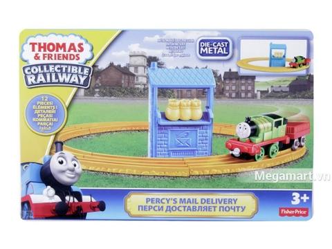 Thomas & Friend Bộ đường ray Percy đưa thư - ảnh bìa sản phẩm
