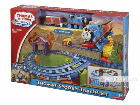 Thomas & Friend Bộ đường ray Thám hiểm vượt đồi núi - ảnh bìa sản phẩm