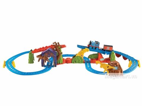 Thomas & Friend Bộ đường ray Thám hiểm vượt đồi núi - bộ đồ chơi thông minh
