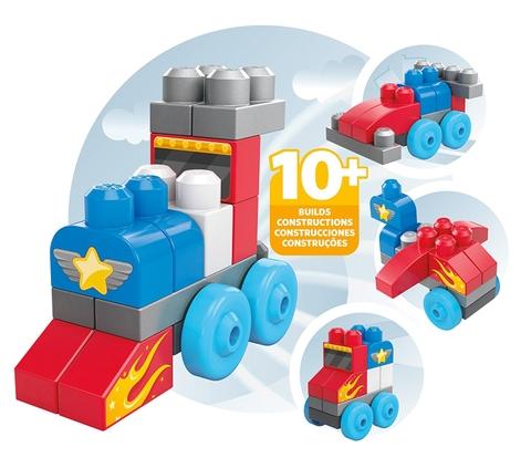 Các mô hình ấn tượng trong bộ Mega Bloks Xếp khối phương tiện giao thông
