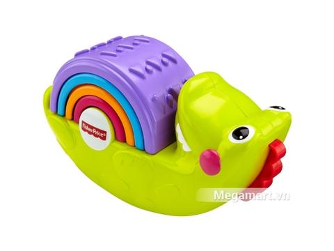 Fisher Price Xếp chồng cá sấu rèn luyệt và phát triển các giác quan ở trẻ