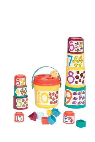 Battat Bộ xếp hình thông minh phát triển trí tuệ cho bé