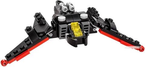 Các mô hình ấn tượng trong bộ Lego Batman Movie 30524 - Máy bay cánh dơi
