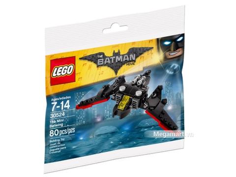 Hình ảnh vỏ hộp bộ Lego Batman Movie 30524 - Máy bay cánh dơi