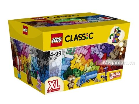 Hình ảnh vỏ hộp bộ Lego Classic 10705 - Giỏ lắp ráp sáng tạo