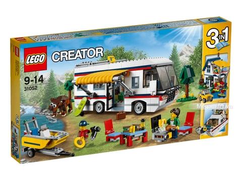 Lego Creator 31052 - Kỳ nghỉ đáng nhớ - Vỏ hộp