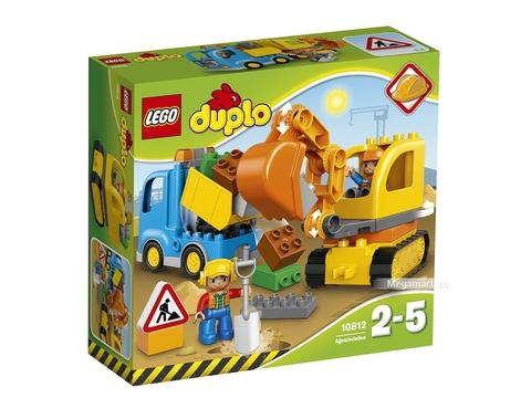Vào vai chú công nhân xây dựng với Lego Duplo 10812 - Xe máy xúc  -1