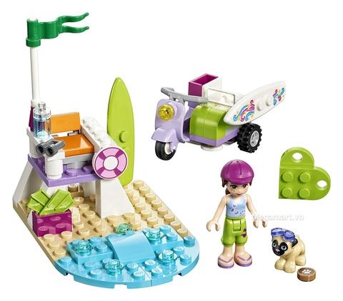 Các mô hình ấn tượng trong bộ Lego Friends 41306 - Xe máy bãi biển của Mia