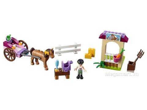 Chi tiết bộ Lego Juniors 10726 - Cỗ xe ngựa của Stephanie