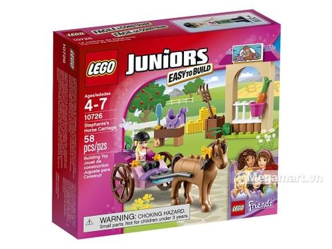 Hình ảnh vỏ hộp bộ Lego Juniors 10726 - Cỗ xe ngựa của Stephanie