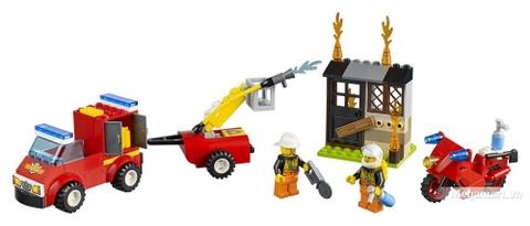 Các mô hình ấn tượng trong bộ Lego Juniors 10740 - Vali tuần tra cứu hỏa