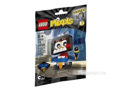 Hình ảnh vỏ hộp bộ Lego Mixels 41578 - Phóng viên Screeno