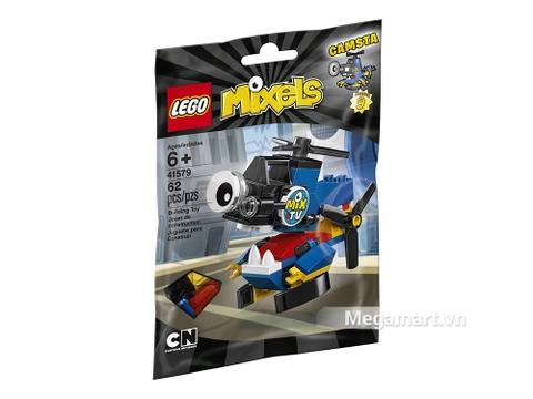 Hình ảnh vỏ hộp bộ Lego Mixels 41579 - Trực thăng đưa tin Camsta