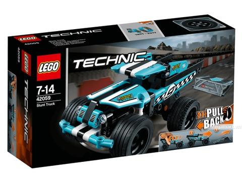 Vỏ hộp Lego Technic 42059 - Xe bốn bánh biểu diễn