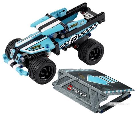 Đồ chơi búp bê Lego Technic 42059 - Xe bốn bánh biểu diễn