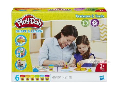 Hình ảnh vỏ hộp bộ Play-Doh B3408 - Dụng cụ học vui nhộn