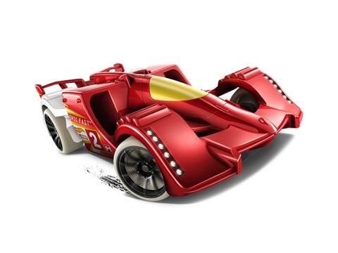 Mô hình xe Hot Wheels Epic Fast thiết kế ấn tượng
