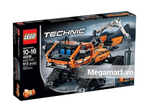 Hình ảnh vỏ hộp bộ Lego Technic 42038 - Xe Chuyên Dụng Bắc Cực