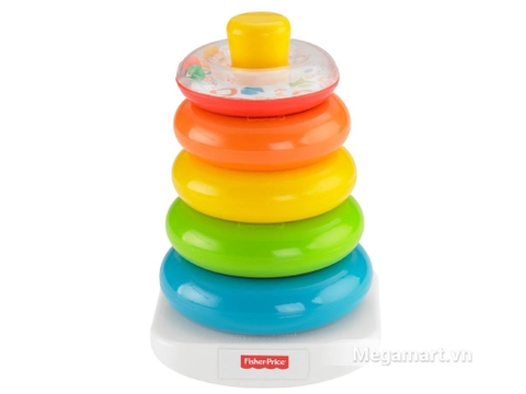 Đồ chơi Fisher Price Thả vòng vui nhộn dành cho bé từ 6 tháng tuổi vui chơi và phát triển trí não
