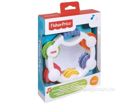 Vỏ hộp đồ chơi Fisher Price Trống lắc gương soi