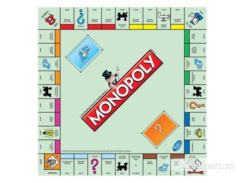 Hasbro Gaming Cờ tỷ phú Monopoly Cơ Bản - bàn cờ