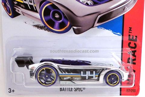 Vỏ hộp đựng mô hình xe Hot Wheels Battle Spec