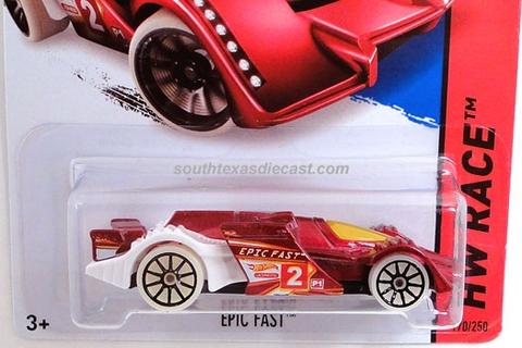 Vỏ hộp đựng mô hình xe Hot Wheels Epic Fast