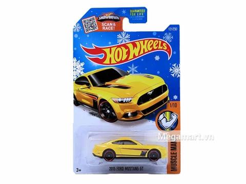 Hình ảnh vỏ hộp bộ Hot Wheels 2015 Ford Mustang GT