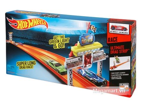 Hình ảnh vỏ hộp bộ Hot Wheels Bộ đường đua đối đầu