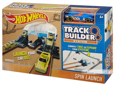 Vỏ hộp sản phẩm Hot Wheels Bộ phụ kiện đường đua - Vòng xoáy khởi động