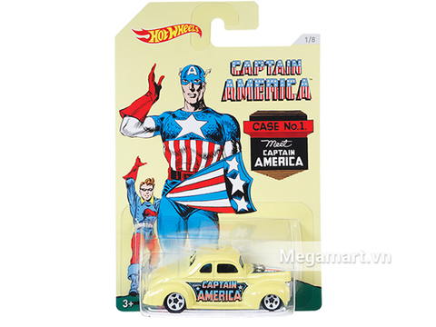 Hot Wheels Captain America '40 Ford Coupe chính hãng