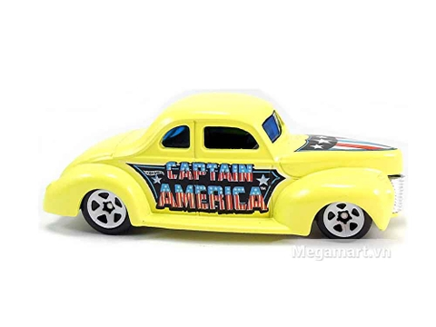 Hot Wheels Captain America '40 Ford Coupe nổi bật